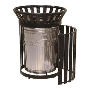 32 Gal Round Side Door Receptacle