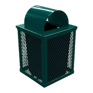 32 Gal Square Expanded Receptacle