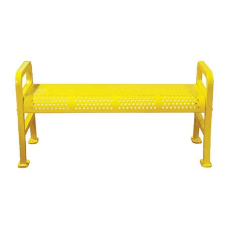 Perforated Bench Without Back