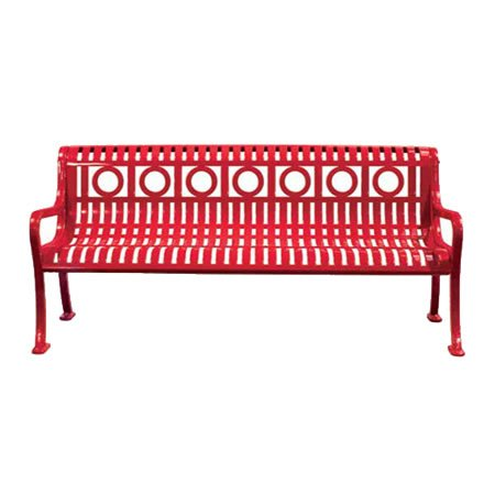 Roll Formed Ring Pattern Bench