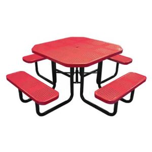 Octagonal Perforated Table