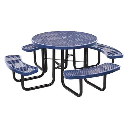 Round Expanded Metal Table