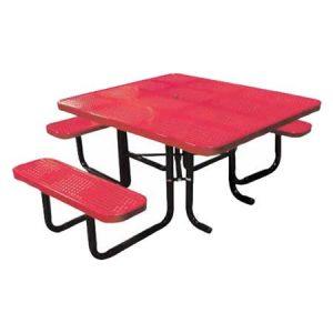 Perforated Metal ADA Table