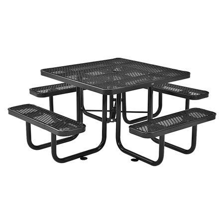 Square Expanded Metal Table