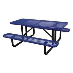 Standard Expanded Metal Picnic Tables