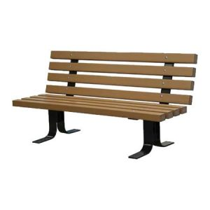 Recycled Plastic Trail Bench