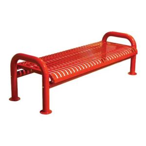 U-Leg Ribbon Bench Without Back