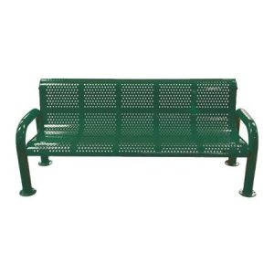 U-Leg Perforated Bench