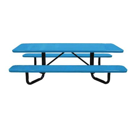 Y-Base Perforated Metal ADA Picnic Tables