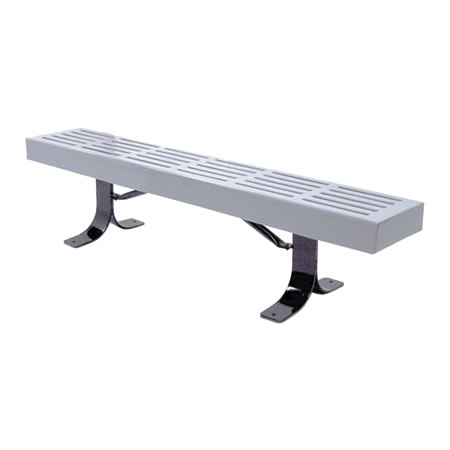 Slatted Bench Without Back