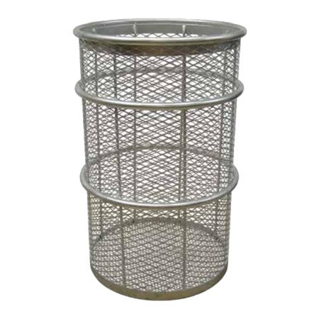 55 Gal Galvanized Expanded Receptacle