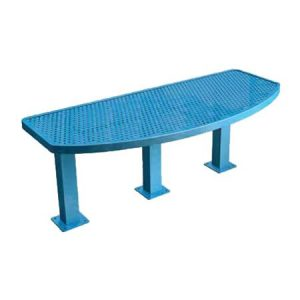 Perforated Tri-Pedestal Table