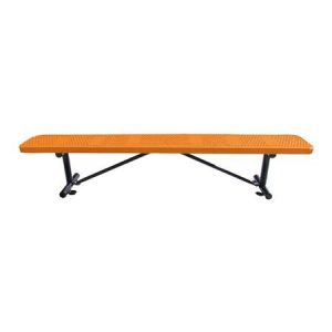 Standard Perforated Players Bench Without Back