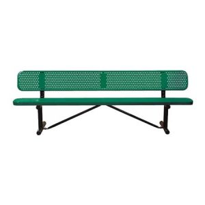 Standard Expanded Metal Bench Without Back