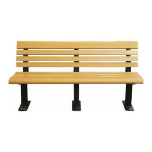 Modern Recycled Plastic Bench