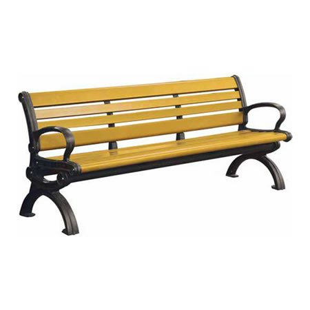 Victorian Recycled Plastic Bench
