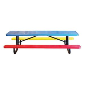 Perforated Childrens Picnic Table