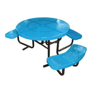 Round Perforated ADA Table