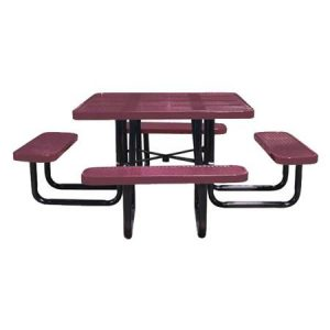 Square Perforated Table
