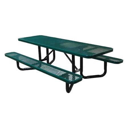 Y-Base Expanded Metal ADA Picnic Tables
