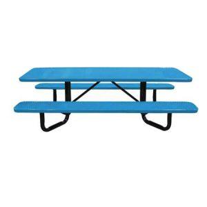 Y-Base Perforated Metal ADA Picnic Tables