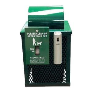 dog waste dispenser and smokers outpost