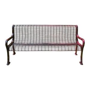 roll formed wire bench